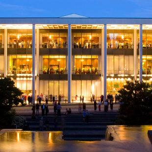 photo of the exterior of Keller Auditorium