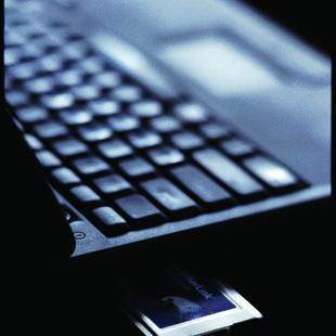 photo of a computer keyboard