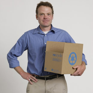 photo of recycle at work consulting staff