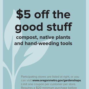 preview of the natural gardening coupon