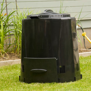 photo of the Enviroworld compost bin