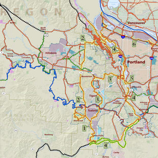 map of regional trails system
