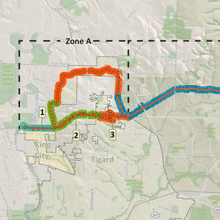 thumbnail of Westside Trail map