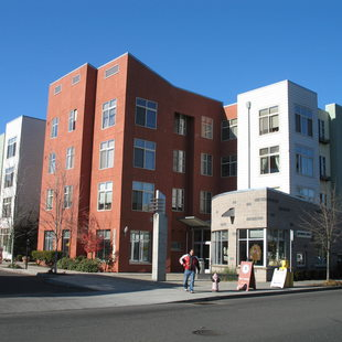 photo of the Center Commons apartments