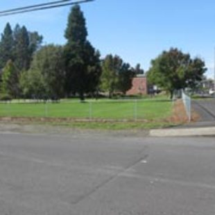 photo of an empty lot in Beaverton