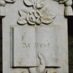 photo of a gravestone at White Birch Cemetery