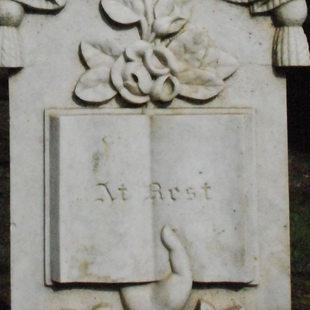 photo of a gravestone at White Birch Cemetery