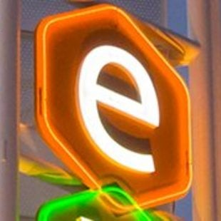 photo of the E from the Expo Center sign