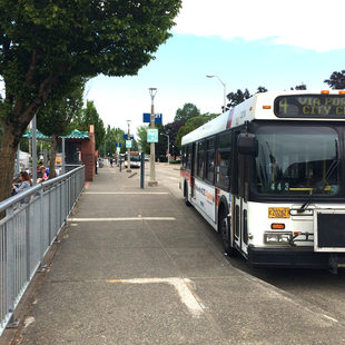 4-Division at Gresham Transit Center