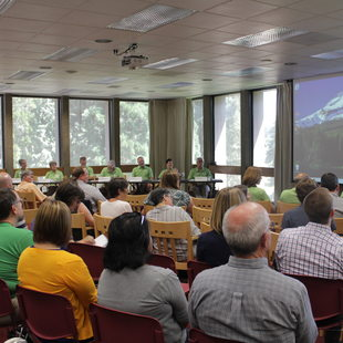photo of the council meeting on July 10, 2014