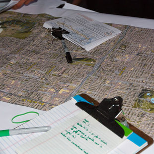 Maps for outreach on Powell-Division project