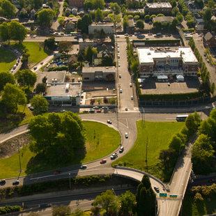Aerial view of NCNM