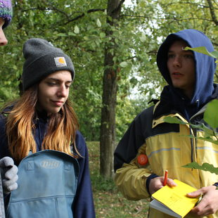 photo of Bradley Fuller, Youth Ecology Corps participant