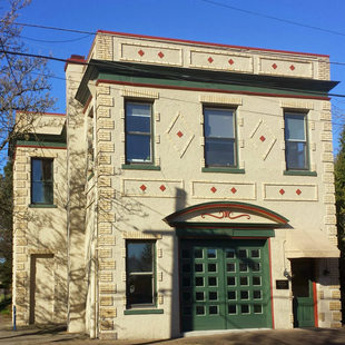 The Historic Kenton Firehouse in North Portland