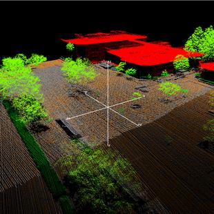 mockup of LIDAR data