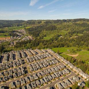 Aerial near Bethany