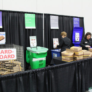 photo of recycling at OCC