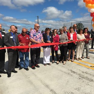 Sunrise Expressway ribbon cutting