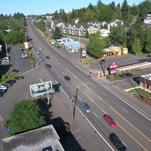 Barbur Boulevard in Southwest Portland