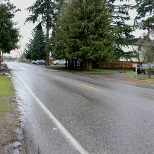 Northeast 72nd Avenue in Cully neighborhood