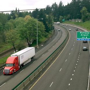 Interstate 84 in Gateway in Portland