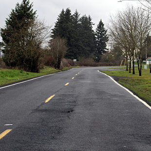 rural west end of Herman Road in Tualatin
