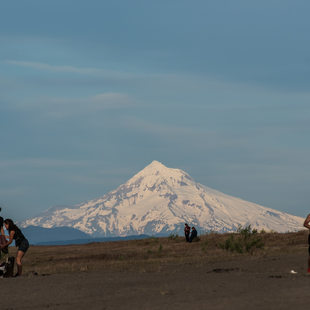 photo of Mount Hood from Broughton Beach