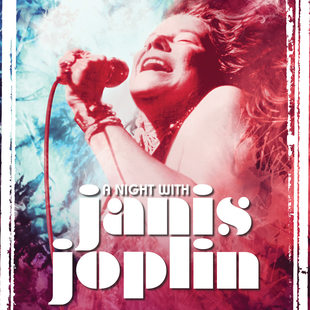 "Promotional image for ""A Night With Janis Joplin"""