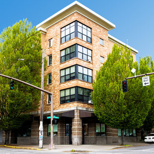 A view of Ritzdorf Court apartments in southeast Portland