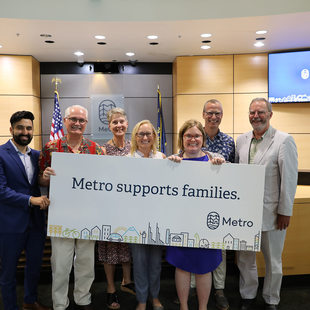 Metro supports families
