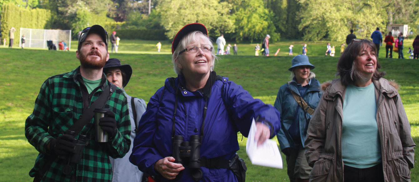photo of April Hill Park bird walk