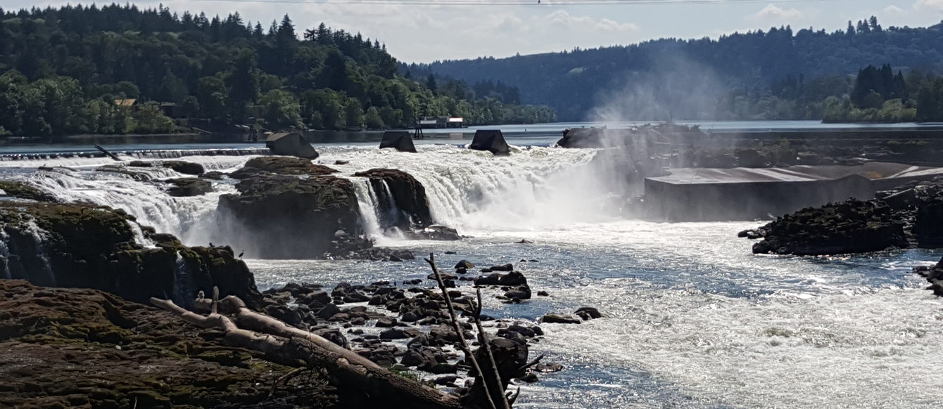 photo of Willamette Falls