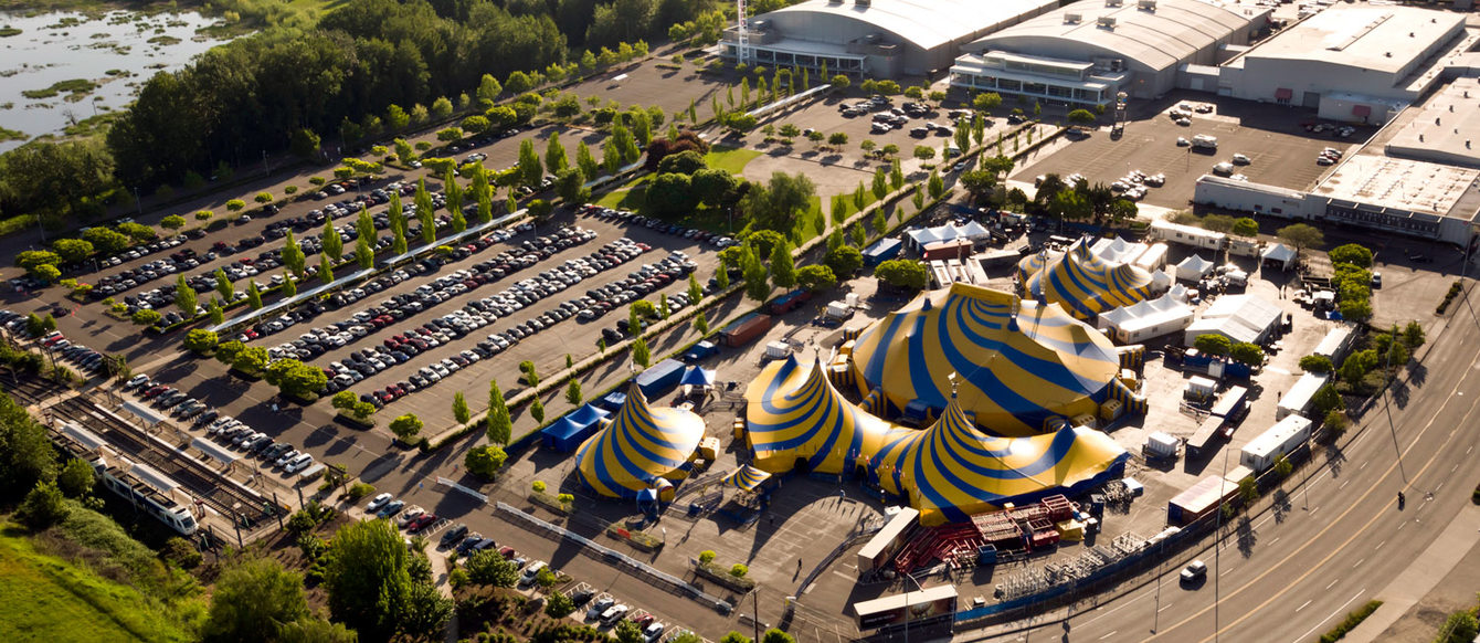 Cirque du Soleil at the Portland Expo Center
