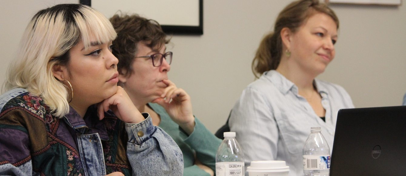 members of the Land Use Leadership Initiative at a meeting