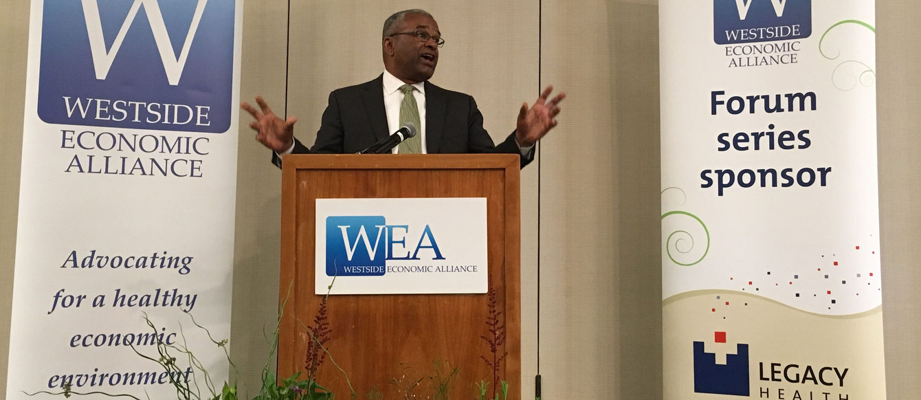 Ron Sims, former deputy secretary of the Department of Housing and Urban Development