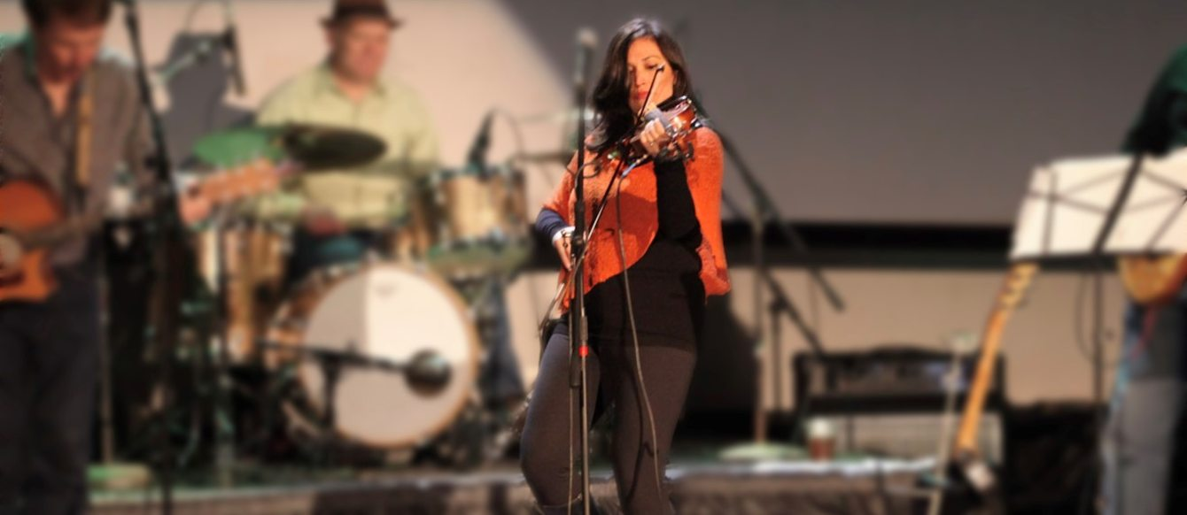 Patricia Rojas at a music performance