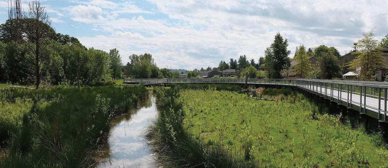 The Boardman Wetlands park in Jennings Lodge.