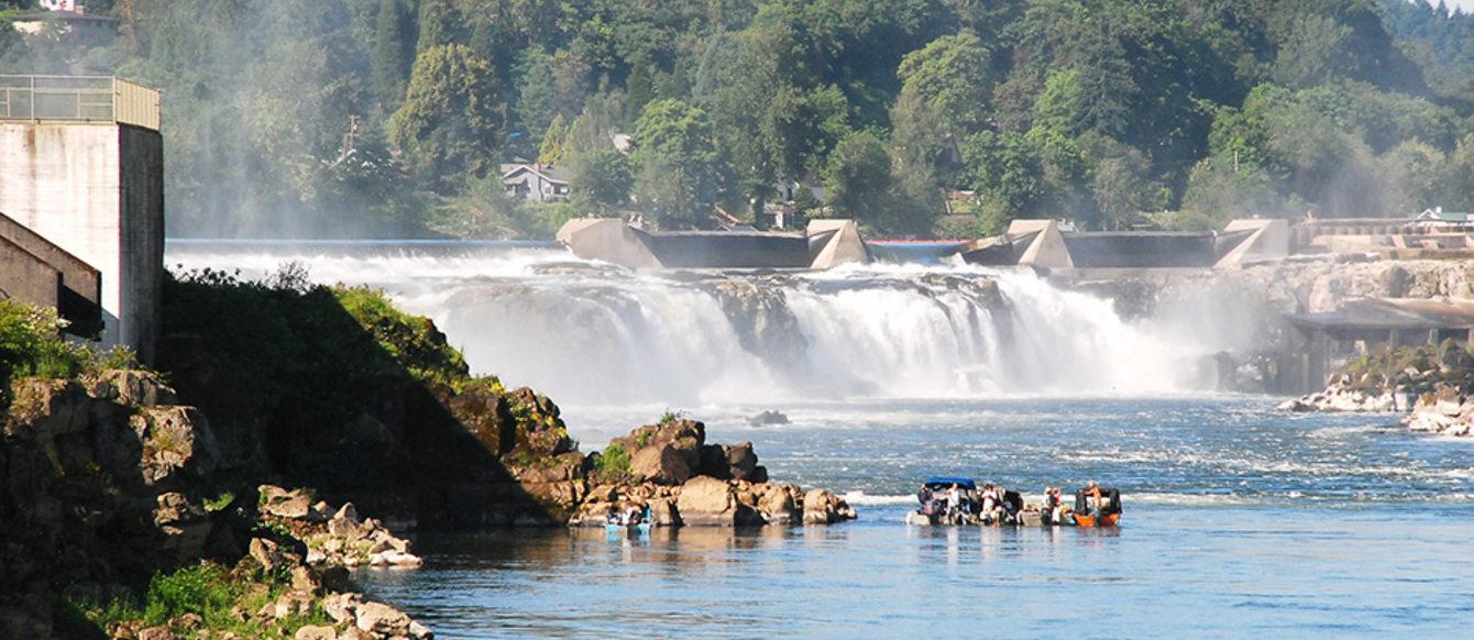 photo of Willamette Falls