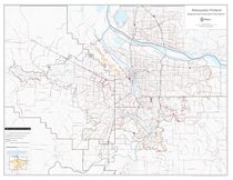 Neighborhood association boundaries map: Regional