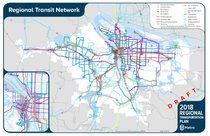 2018 Regional Transportation Plan: Regional Transit Vision Map