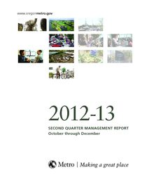 2012-13 quarter 2 management report