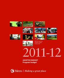 FY 2011-12 Adopted Budget - Program Budget