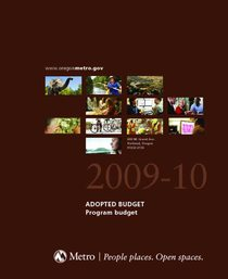 FY 2009-10 Adopted Budget - Program Budget