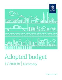 FY 2018-19 adopted budget