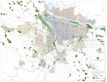2012: Map of dump sites cleaned up by Metro