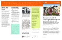 Transit-Oriented Development Program 2014 brochure