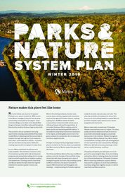 Parks and Nature System Plan executive summary