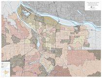 Hauler franchise boundaries map: Multnomah County