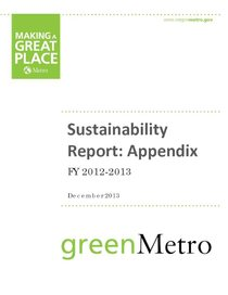 2012-13 sustainability report