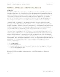 Appendix 6: Employment Site Characteristics